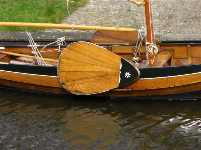leeboards can convert a fishing boat into a sailing boat
