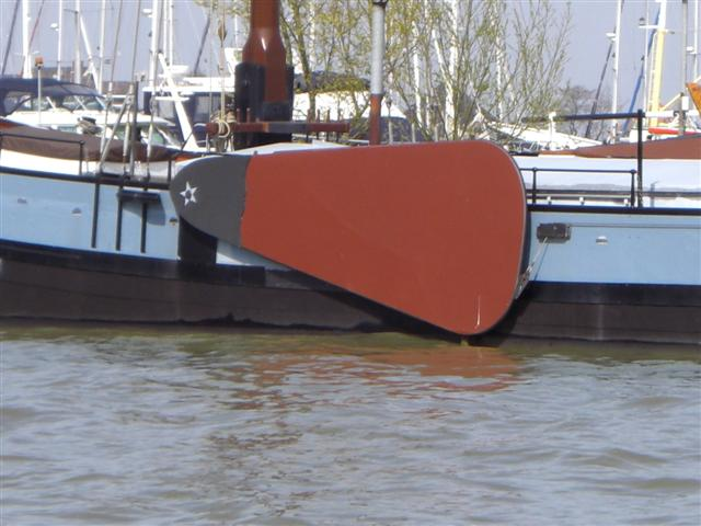 Leeboards are mainly used in shallow waters