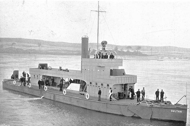 gunboat with leeboards